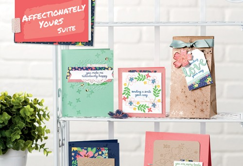 Affectionately Yours Suite, Stampin Up
