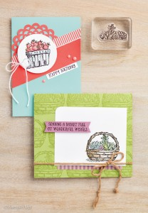 Basket of Wishes, Stampin Up