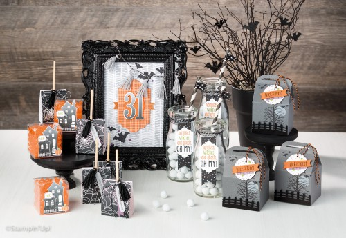 2016 Stampin Up Holiday Catalogue Preview: Halloween