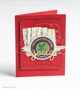 Holly Jolly Layers by Stampin Up