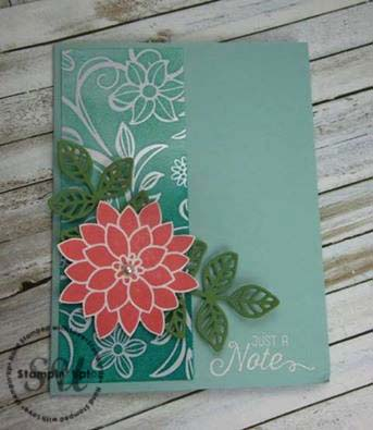 Flourishing Phrases, Stampin Up