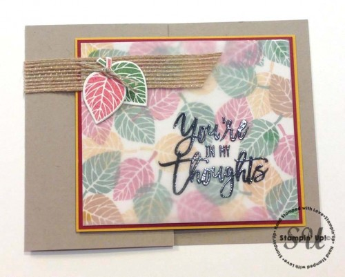 Thoughtful Branches, Stampin Up