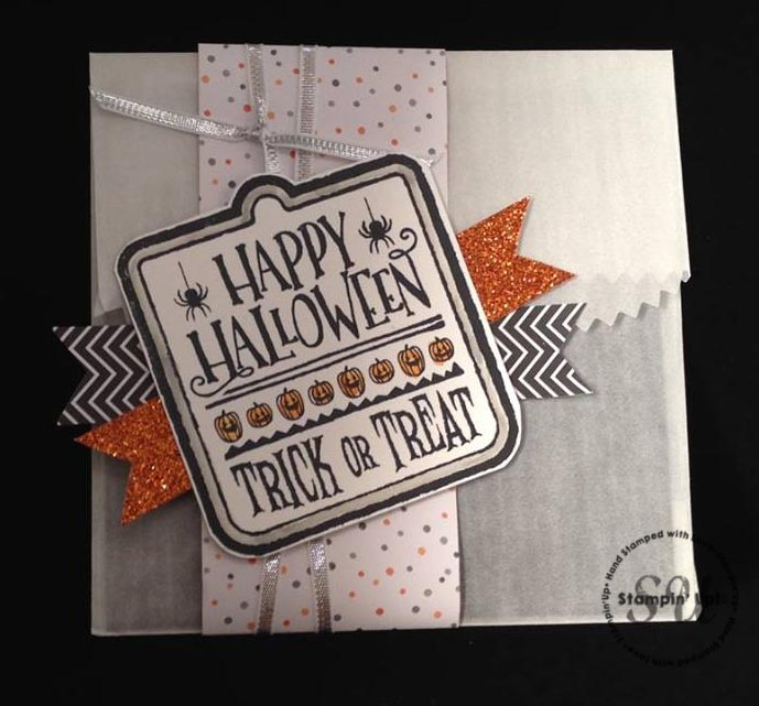 Stampin Up Halloween Treat Bag