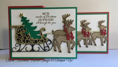 santas-sleigh-by-sharon-burkert