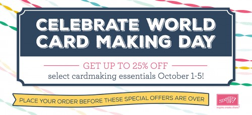 Happy World Card Making Day!
