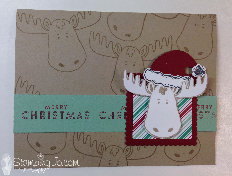 Jolly Friends, Christmas card,