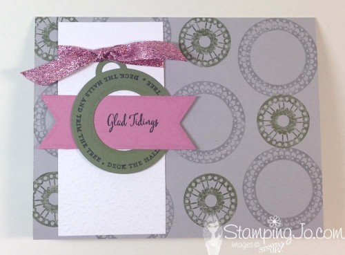 Merriest Wishes, Christmas Card, Stampin Up Canada