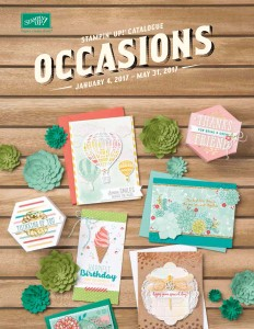 Stampin Up 2017 Occasions Catalogue