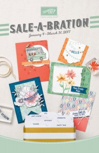 Stampin Up 2017 Sale-A-Bration brochure