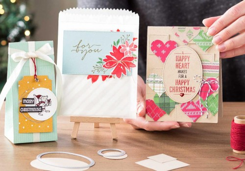 NEW! Stitched Shape Framelits Dies and a Stamp Sale!