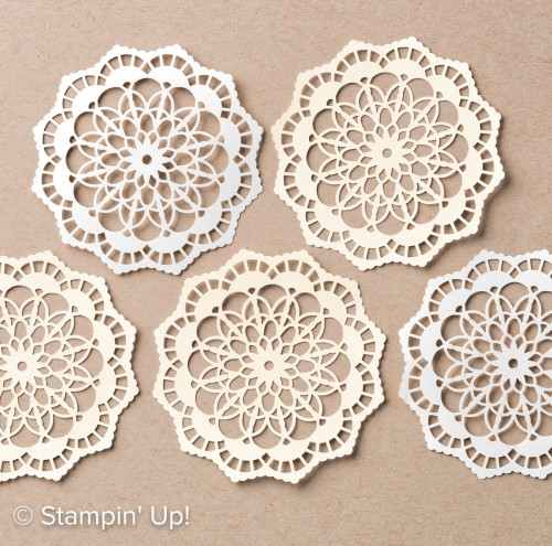 Lace Doilies-142793, Stampin Up, 2017 Occasions Catalogue