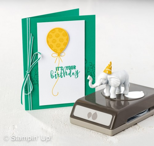 Balloon Adventures, Stampin Up, 2017 Occasions Catalogue