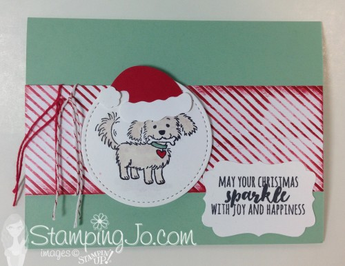 Bella Friends, Stampin Up, Christmas Card