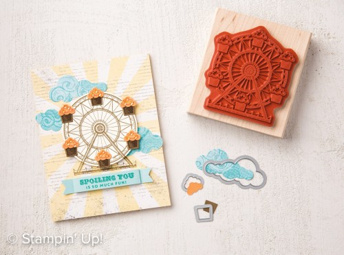 Carousel Birthday stamp set, Stampin Up, 2017 Occasions Catalogue
