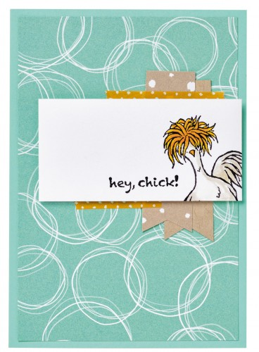 Hey Chick stamp set, Stampin Up, 2017 Sale-A-Bration