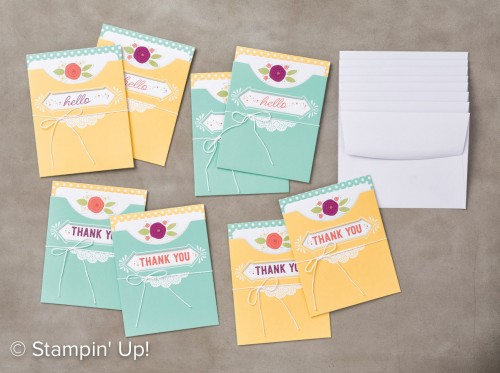 Pretty Pocket Card Kit, Stampin Up, Sale-A-Bration