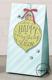 Gift Bag, Gift Packaging using cardmaking supplies