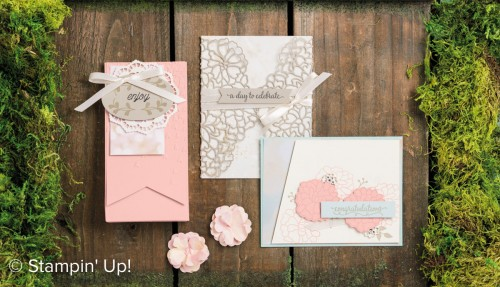 So In Love stamp set, Stampin Up, 2017 Occasions catalogue