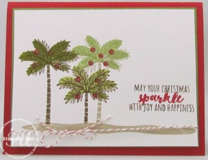 Totally Trees, Stampin Up