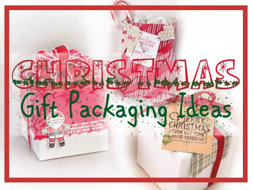 Christmas gift packaging ideas using Stampin Up cardmaking supplies