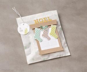 Glassine bag, Gift Packaging using cardmaking supplies