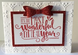 Wonderful Year, Stampin Up