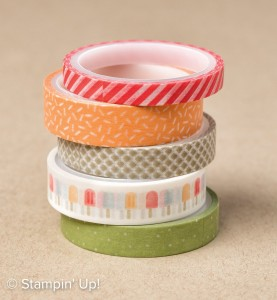 Tasty Treats Designer Washi Tape-142773, Stampin Up, 2017 Occasions Catalogue