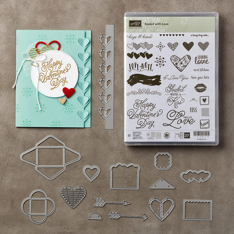 Sealed With Love Bundle-144705, Stampin Up 2017 Occasions Catalogue
