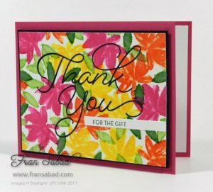 Avant Garden stamp set, Stampin Up, 2017 Sale-A-Bration
