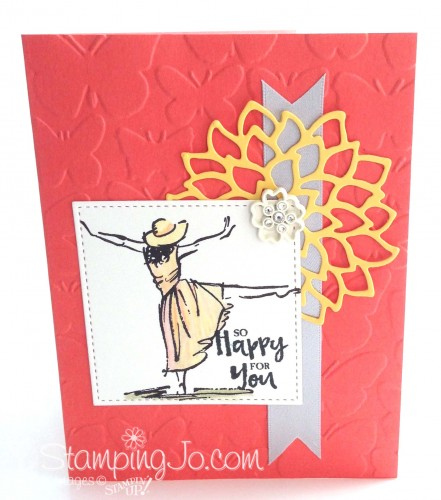Beautiful You stamp set, Stampin Up 2017 Occasions Catalogue,