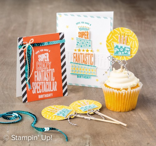 Cake Crazy stamp set, Stampin Up, 2017 Occasions Catalogue