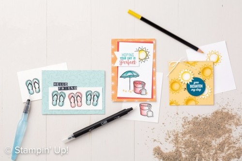 Day At the Beach stamp set, Stampin Up, 2017 Occasions Catalogue