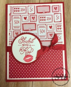 Sealed With Love, Stampin Up, by Charlotte Minear