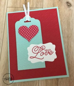 Sealed With love, Stampin Up, by Rene Watson