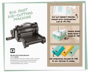 Stamping Tips: Big Shot, Framelits and Thinlits to coordinate with stamp sets