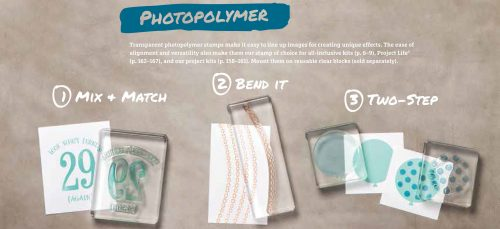 Stamping Tips: Photopolymer stamps