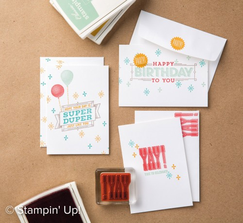 Super Duper stamp set, Stampin Up, 2017 Occasions Catalogue
