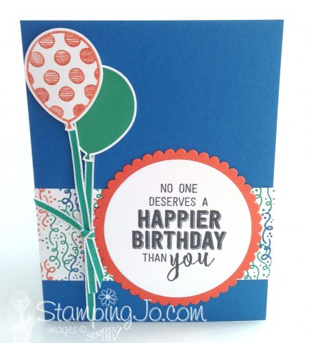 Balloon Adventures, Stampin Up, 2017 Occasions Catalogue, Stamped Birthday card, masculine card