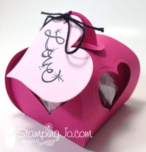 Valentine Treat Box- Curvy Keepsake Box Thinlits