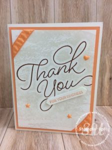 So Very Much stamp set, Stampin Up, Sale-A-Bration, stamped card ideas