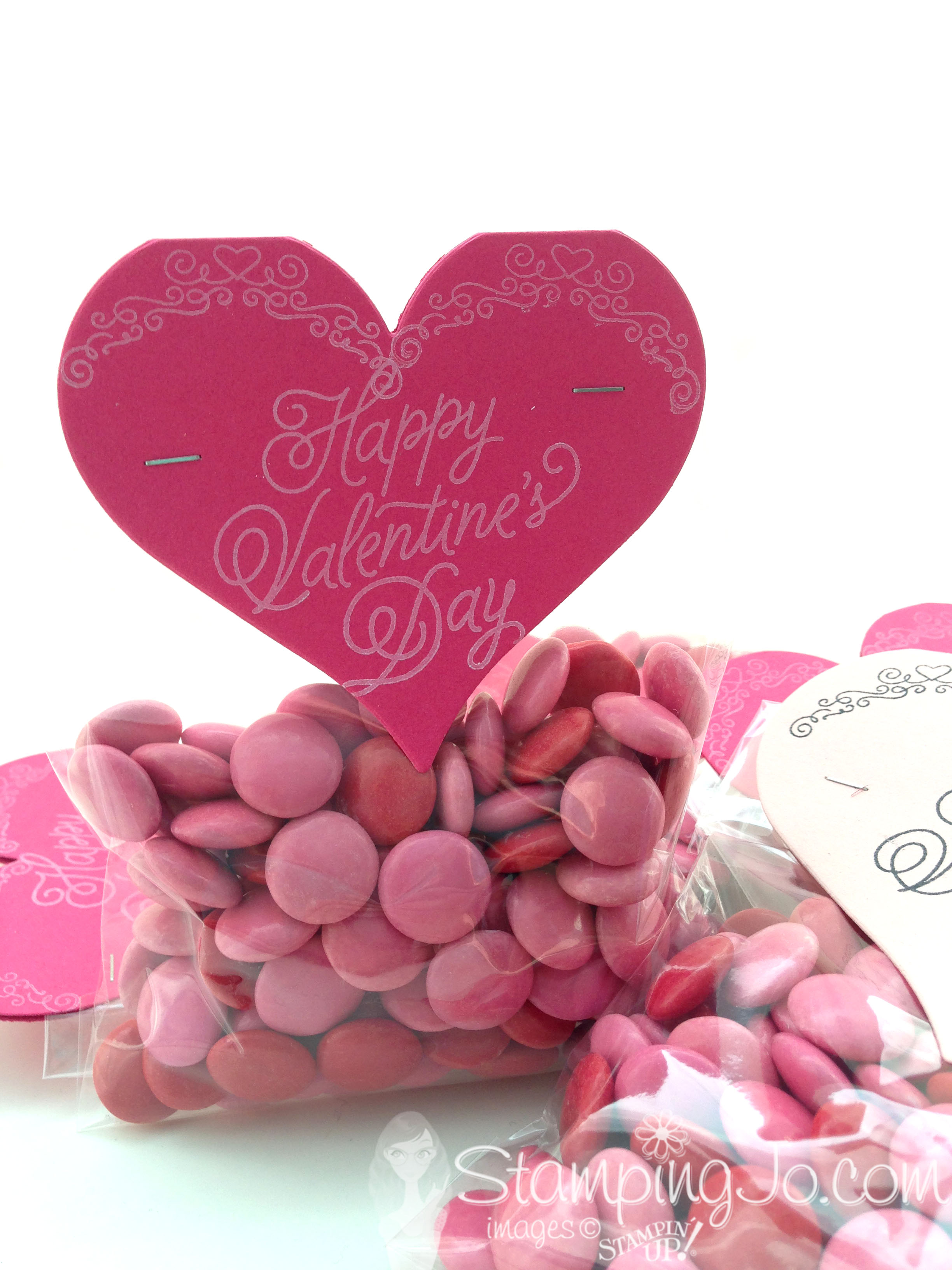 Sweet & Sassy Framelits, Sealed With Love, Valentine treat bag, Stampin Up