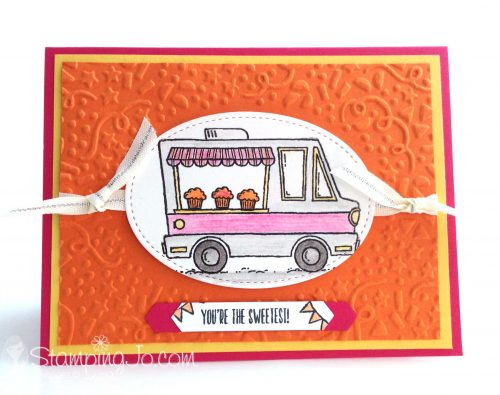 Tasty Truck stamp set, Stampin Up, 2017 Sale-A-Bration