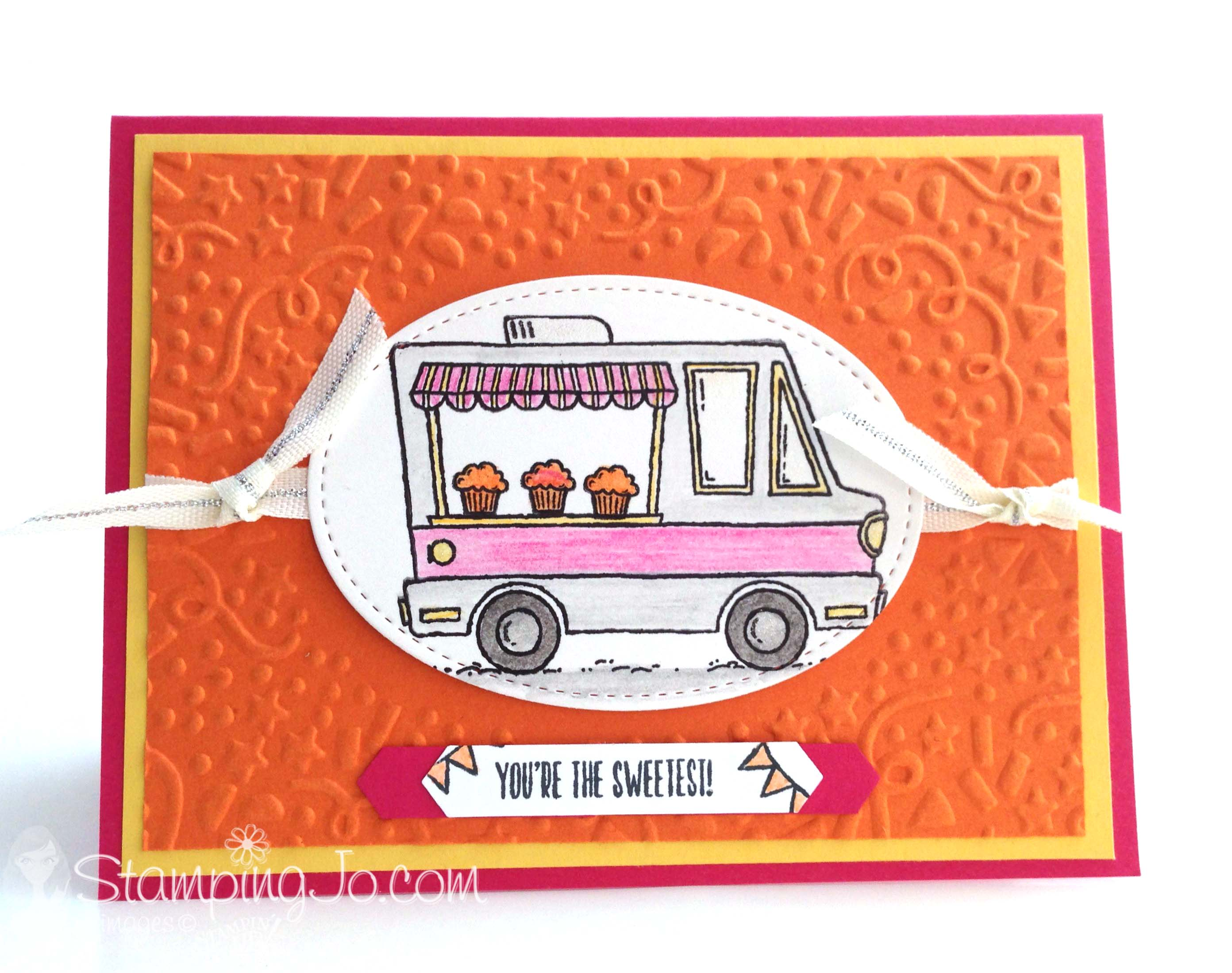 Tasty Truck, Stampin Up, Sale-A-Bration, 2017