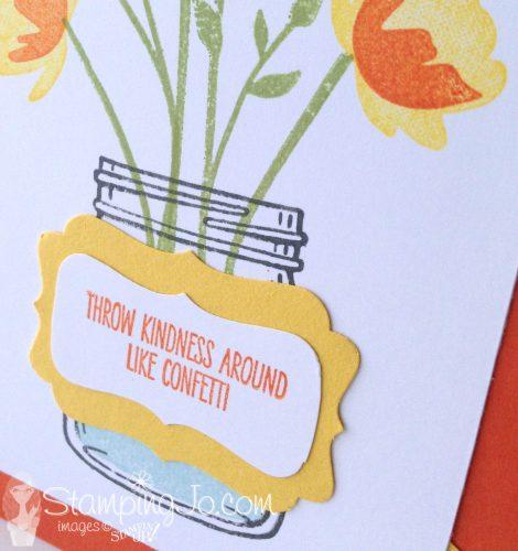 Jar of Love Stamp set-Throw Kindness Around Like Confetti