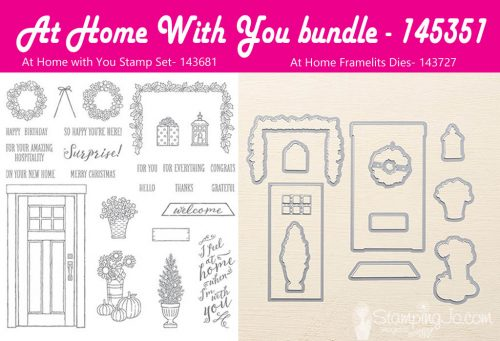 At Home With You bundle, Stampin Up