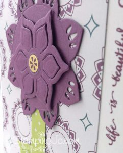 Eastern Palace Suite, Stampin Up, flower card, Eastern Palace Premier Bundle now available!