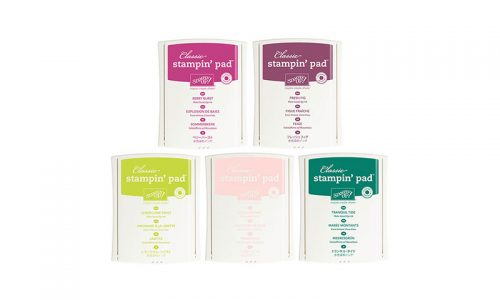 In Color Stampin Ink Pads, Stampin Up