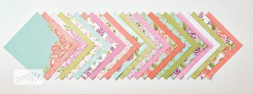 Petal Garden Designer Series Paper Stack, Petal Garden Suite