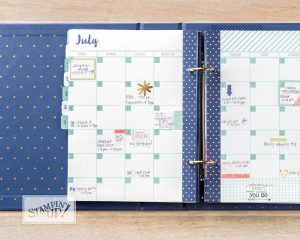 Love Today Planner Kit, Stampin Up