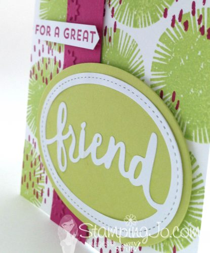 For A Great Friend Card